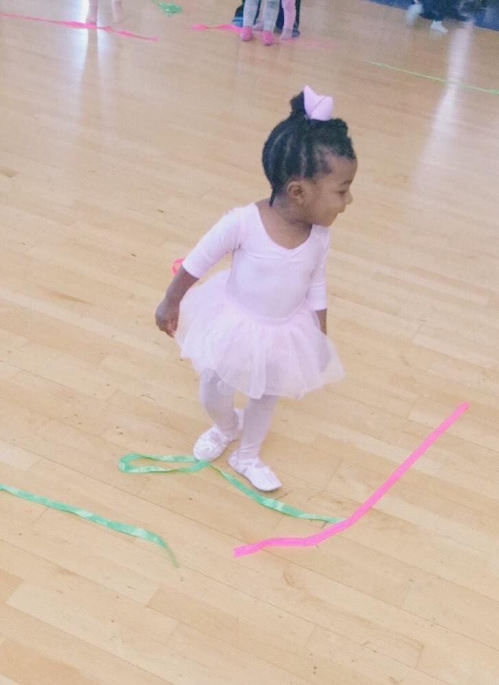 Belle's first ballet